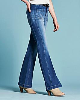 Lola Kick Flare Jeans Long