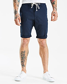 Jacamo Slim Fit Rope Chino Shorts
