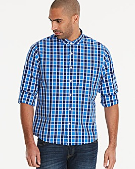 Jacamo Logan Check L/S Shirt Regular