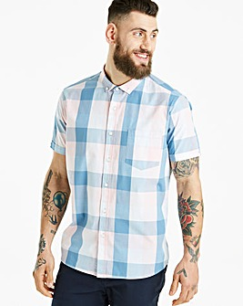 Jacamo Jericho Check S/S Shirt Regular