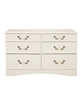 Darley 6 Drawer Wide Chest