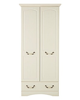 Darley 2 Door 1 Drawer Wardrobe