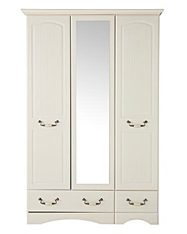Darley 3 Door 2 Drawer Wardrobe