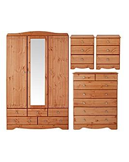 Otley 4 Piece Bedroom Package