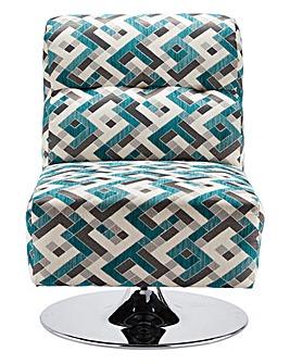 Rubix Swivel Accent Chair