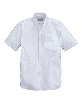 WILLIAMS & BROWN Short Sleeve Spot Shirt