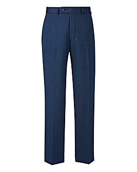 Brook Taverner Navy Suit Trousers 31in