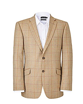 Brook Taverner Oatmeal Check Blazer R