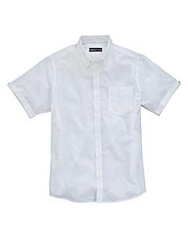Capsule White S/S Oxford Shirt R