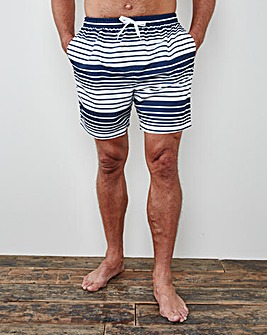 WILLIAMS & BROWN Stripe Swimshorts