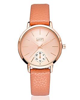 Ladies Rose Tone Watch