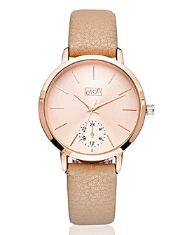 Ladies Rose Tone Watch