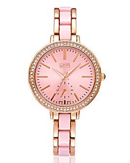 Ladies Two Tone Bracelet Watch