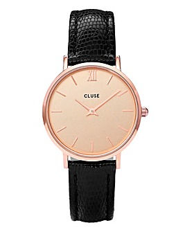 CLUSE Ladies Lizard Minuit Watch