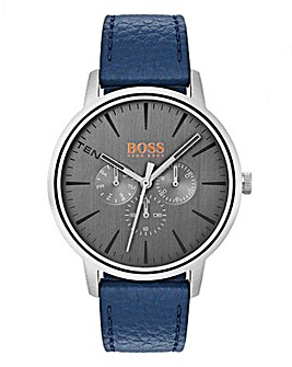 Boss Orange Gents Blue Strap Watch