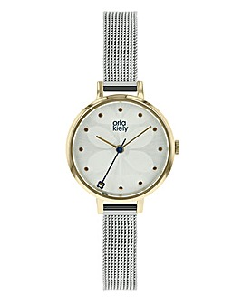Orla Kiely Ladies Ivy Mesh Strap Watch