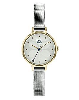 Orla Kiely Ladies Ivy Mesh Strap Watch