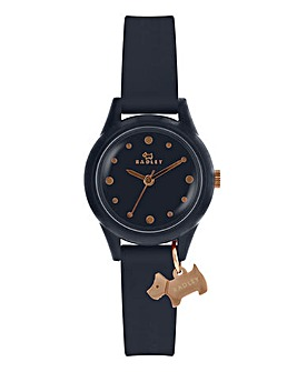 Radley Ladies Silicon Strap Watch - Navy