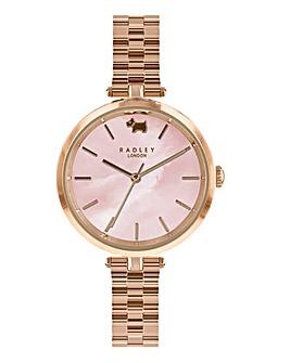 Radley Ladies Bracelet Watch - Rose Tone