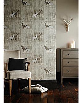 Arthouse Stag Wallpaper