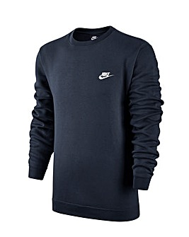 Nike Club Fleece Crew Neck Sweatshirt