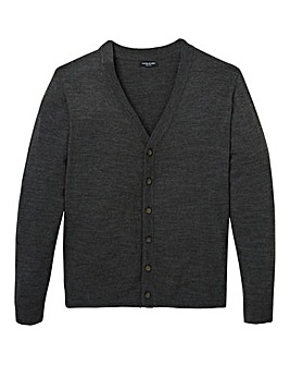 Capsule Charcoal Button Cardigan R
