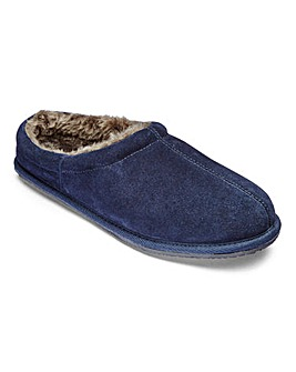 Luxury Suede Mule Slippers