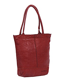 Justified Genuine Leather Shopper