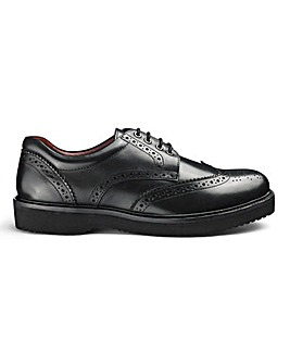 Lightweight Brogues Wide Fit