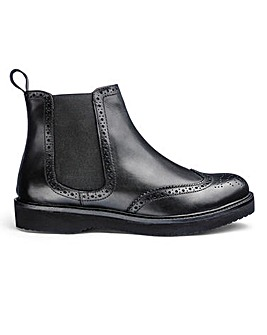 Lightweight Chelsea Boots Wide Fit
