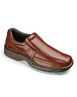 Cushion Walk Slip On Shoes Wide Fit
