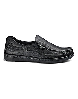 Cushion Walk Comfort Slip On Shoes Wide