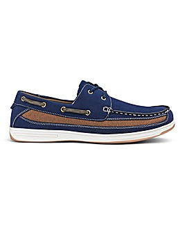 Cushion Walk Boat Shoes Wide Fit