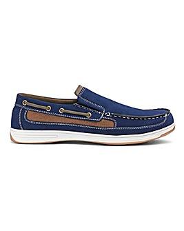 Cushion Walk Slip On Boat Shoes Standard