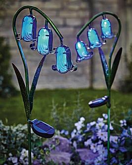 Solar Bluebell Lights Pack of 2
