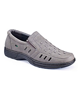 Cushion Walk Mens Slip On Shoes Wide
