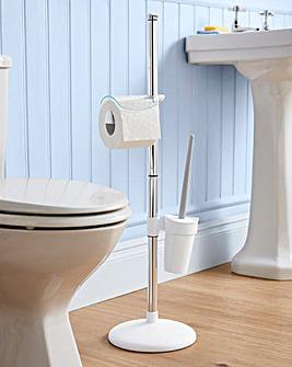 No Rust Lightweight Toilet Caddy