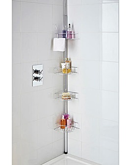 Stainless Steel Telescopic Shower Caddy