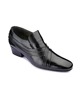 Cuban Heel Slip On Shoes Standard Fit