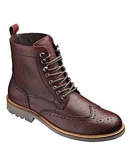 Jacamo Milled Brogue Boot Standard Fit