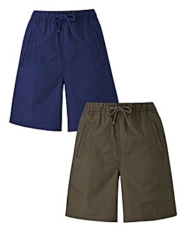 Pack of 2 Woven Shorts
