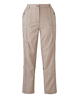 Laundered Cargo Trouser Long