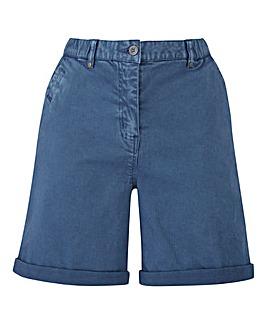 Petite Laundered Chino Shorts
