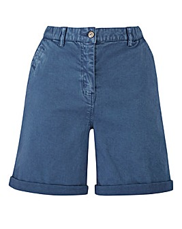Petite Comfort Stretch Chino Shorts