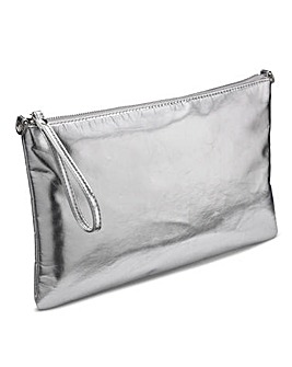 Metallic Clutch Bag