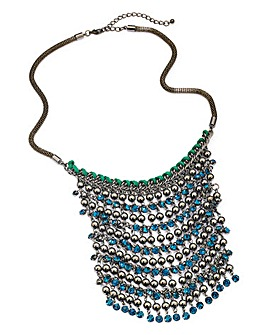 Waterfall Statement Necklace