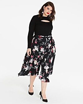 Floral Superwide Culottes