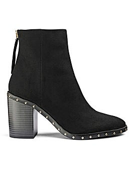 Holly Stud Boots Extra Wide Fit