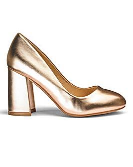 Sole Diva Slanted Heel Courts EEE Fit