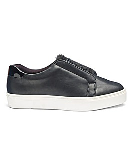 Marlow Faux Fur Trainers E Fit